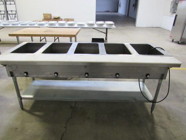 Past Auctions Auction Factory - Eagle group steam table